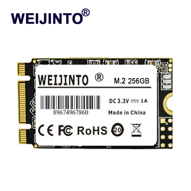 WEIJINTO NGFF m.2 SSD to HDD 2242mm NGFF SSD M2 disque dur Inernal à semi-conducteurs SSD NGFF 1 to pour ordinateur portable