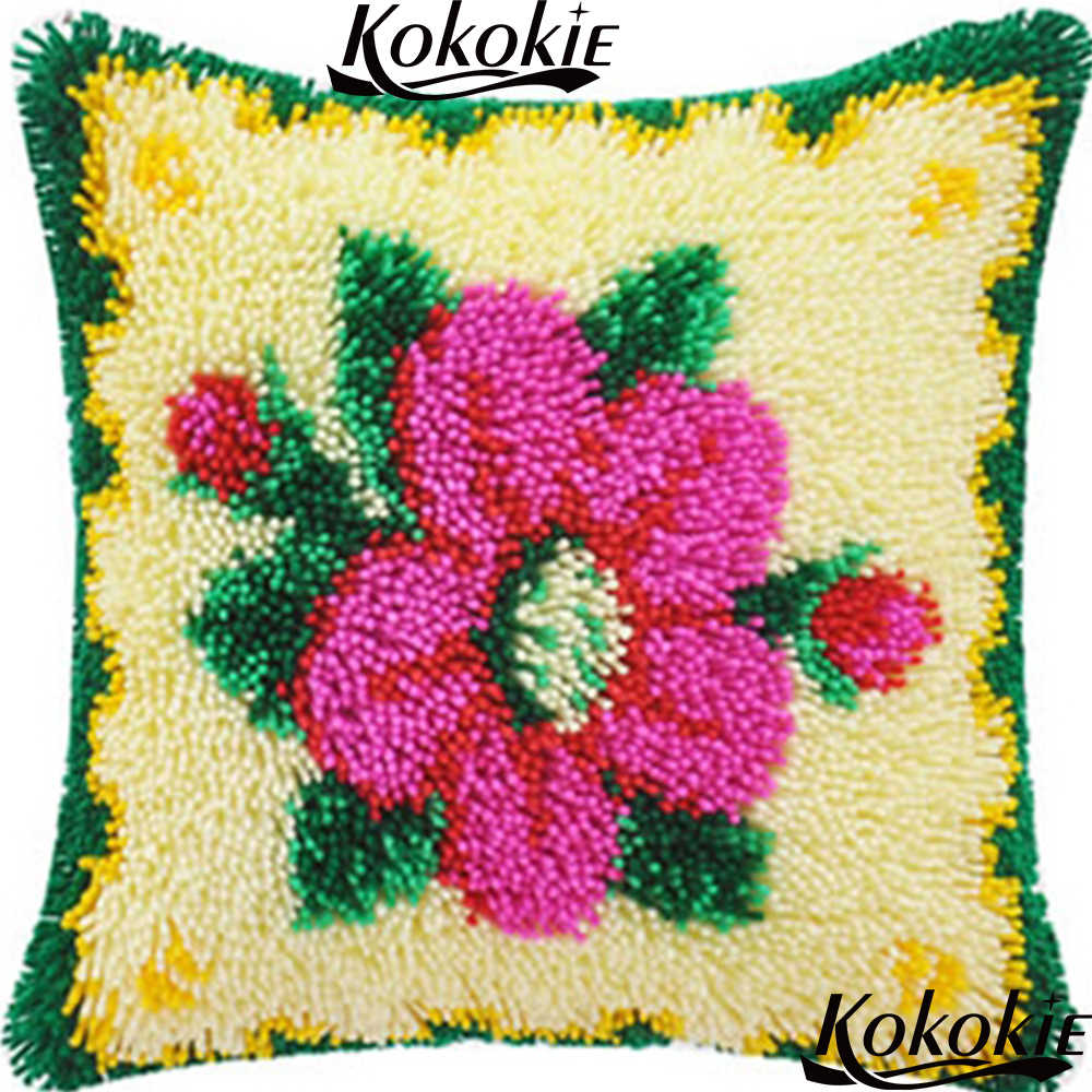Rug Yarn Cushion Blanket