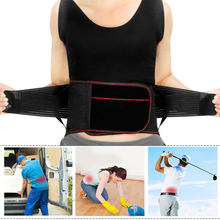 Tcare Lumbar Lower Back Waist Brace Support Belt Stabilizing Lumbar, Protects & Relieves Lower Back Waist Pain for Men Women цена и фото