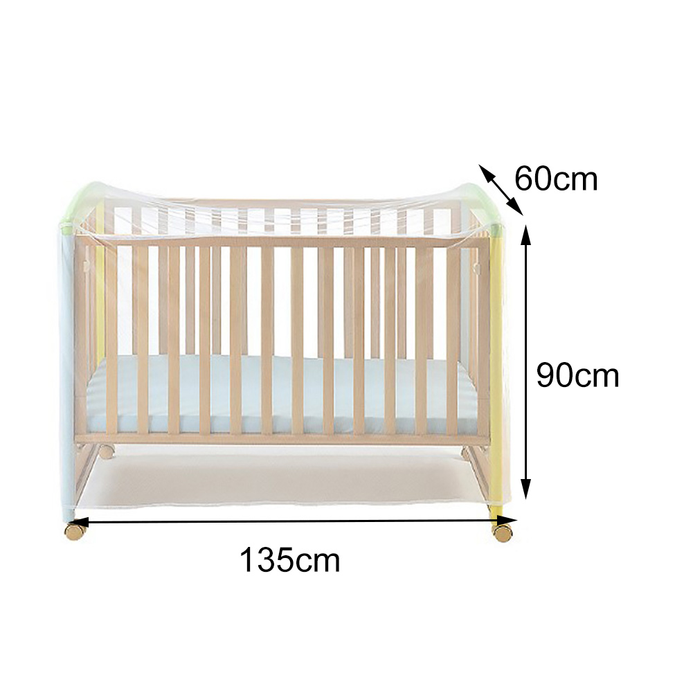 Детская кроватка с насекомыми, белая, для дома, детское постельное белье, полиэстер, Складная сетка, москитная сетка, переносные аксессуары, сетка, лето