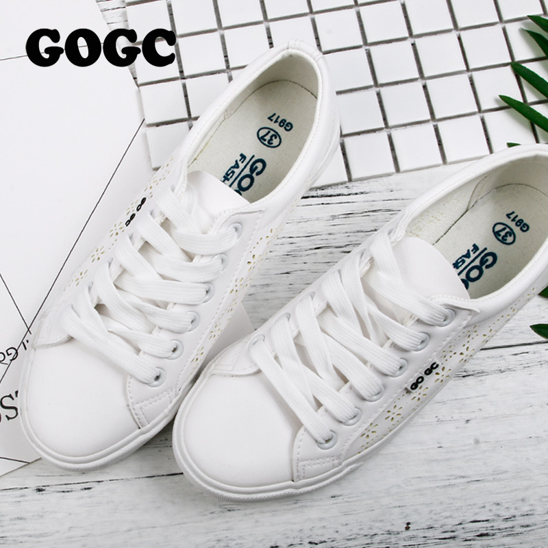 GOGC Design Shoes Women Luxury 2019 Breathable Summer Flats