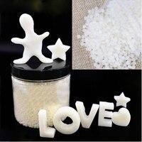 KIWARM 1000g DIY Polymorph Mouldable Plastic Pellets Thermoplastic PCL DIY Craft Handmade Supplies