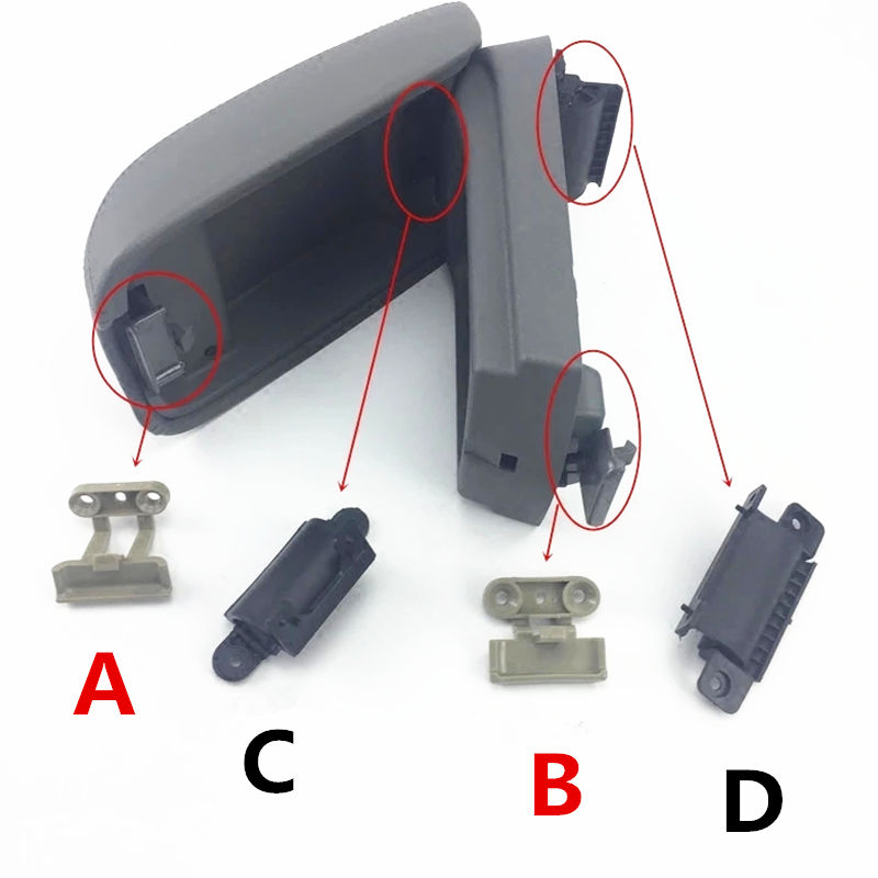Car Armrest Box Cover Buckle,hingle For 09-13 Year Geely EmgrandEC7 EC715 EC718  E7 ,Emgrand7-RV EC7-RV EC715-RV EC718-RV EC-HB
