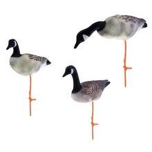 3 шт реалистичные Декорации для охоты на гуся газонов разных