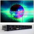 3x3 video wall controller for 9 tv video wall display dvi hdmi vga input hdmi output