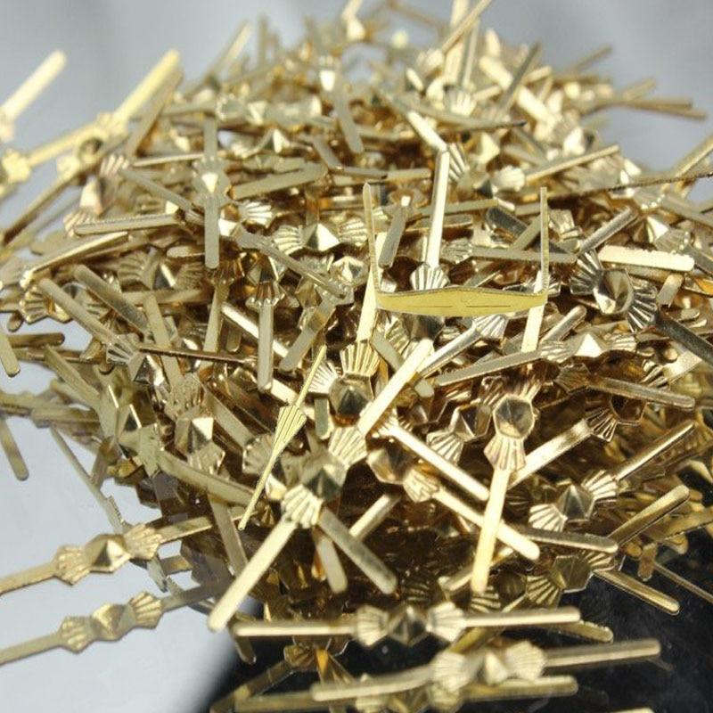 500PCS CHANDELIER LAMP PARTS CRYSTAL BEAD 25MM METAL CONNECTOR GOLDEN BOWTIE PIN