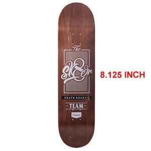 Image 4 - SK8ER Canadiense Maple Skateboard Decks 8.125 pulgadas de calidad 8 capas Canadiense Maple Skate Deck para Skateboarding deportes al aire libre
