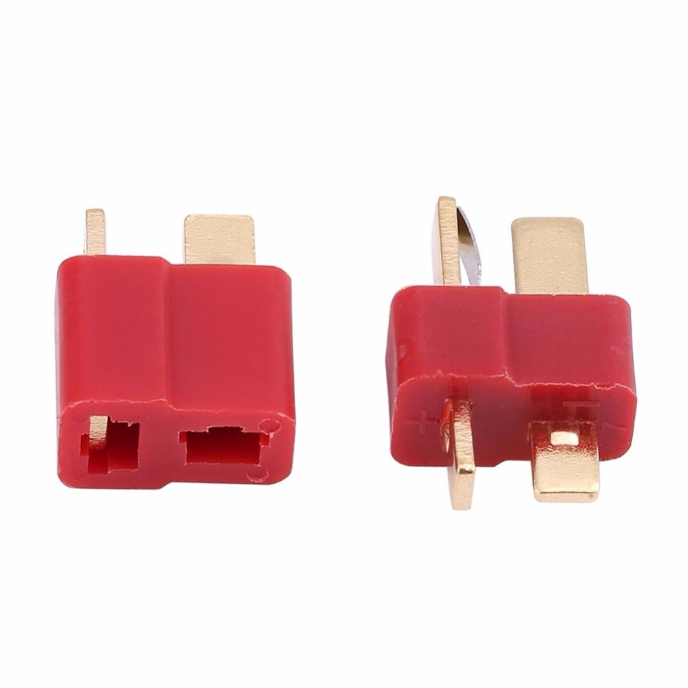 20Pcs Set 2018 Hot Sale RC Parts T Plug Copper Core Gold Plating Connector Male Female
