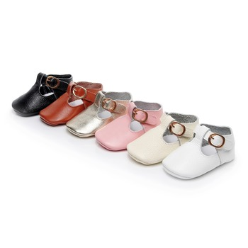 Genuine Leather Mary Jane Unisex Baby & Toddler Shoes