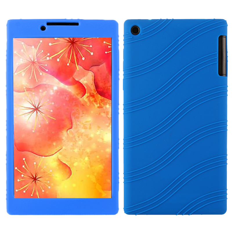 Luxury Ultra Slim Cute Soft Silicone Rubber Protective Shell Back Case Cover For Lenovo Tab3 7 TB3-730M TB3-730F 7 inch Tablet ultra slim 2 folder stand pu leather case protective skin flip sleeve shell cover for lenovo tab3 7 tb3 730m tb3 730f 7 tablet