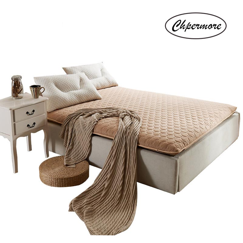 Chpermore 100% Cotton Keep Warm Mattress 10 Cm Thicken Foldable Tatami Single Double Student Mattresses Mat King Queen Size