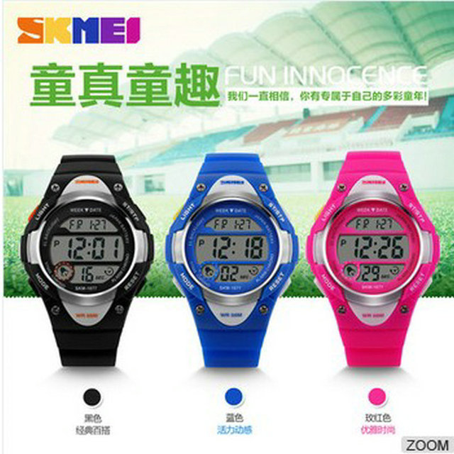 US $22 99 |china online shopping skmei digital watch instructions manual  cool digital kids wrist watches-in Children's Watches from Watches on