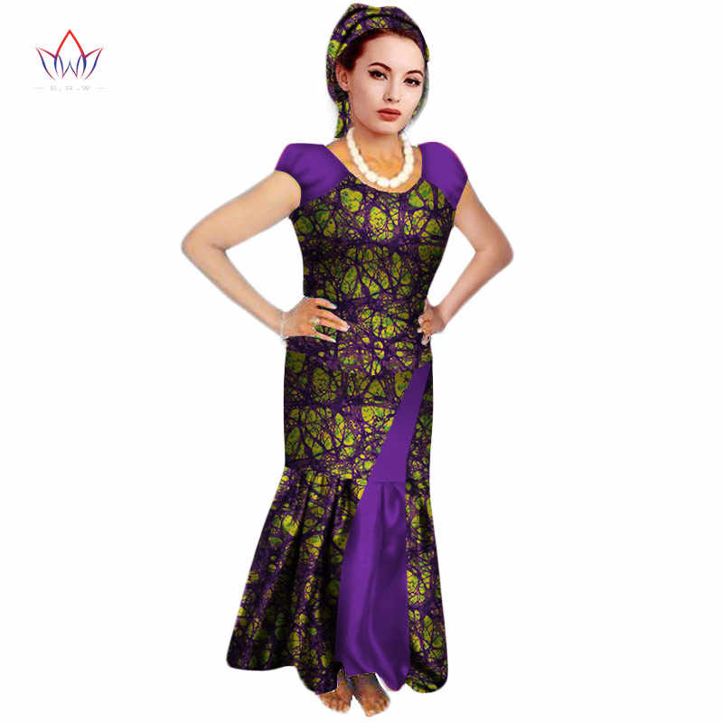 2019 summer traditional african clothing casual Women African Dashiiki Wax Two Pieces Short Sleeve O Neck Set ankle-length WY070