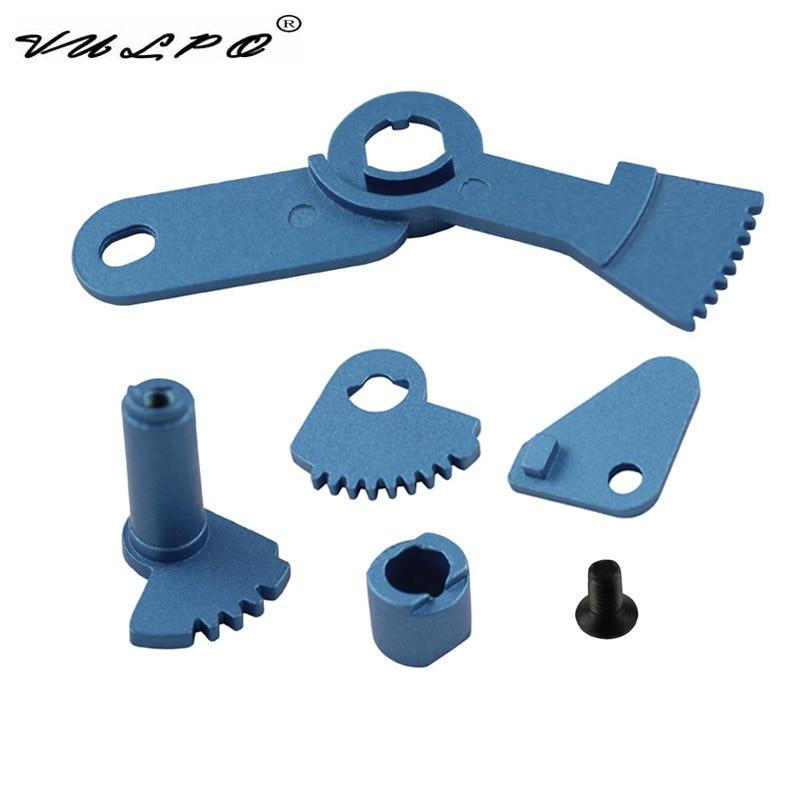 VULPO Switch Selector Metal untuk Airsoft AK AK47 AK74 AK74U siri AEG Marui CYMA JG ARES Matrix-Free shipping