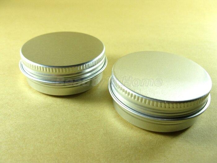 Алюминиевые баночки для косметики