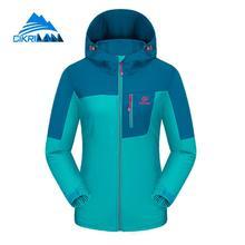 New Windbreaker Water Resistant Outdoor Softshell Jacket Women Sport Hiking Cmaping Coat Climbing Fleece Lining Jaqueta Feminina