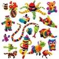 Bunche 400 + peças mega pacote de acessórios diy montagem de blocos conjuntos de brinquedos educativos