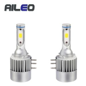 AILEO 2PCS H15 led Car bulb La