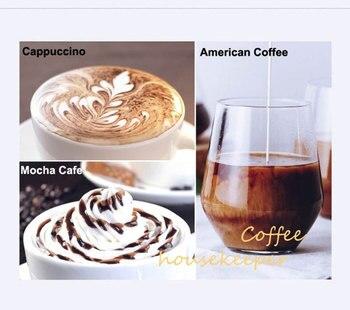ITOP 15 Bar Italian Semi-automatic Coffee Maker Cappuccino Milk  Bubble Maker Americano Espresso Coffee Machine for Home 4