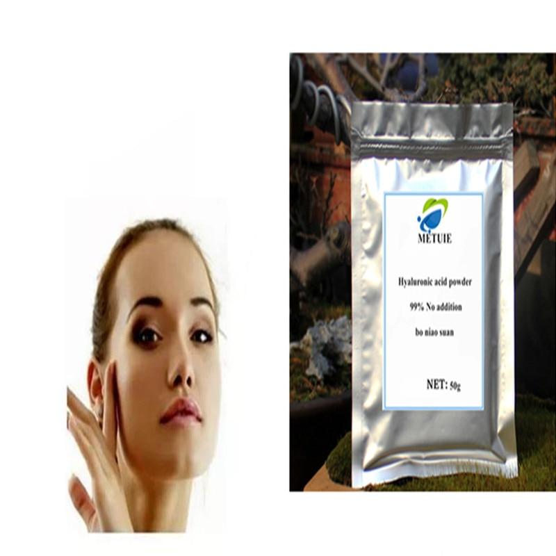 Pure 99% Hyaluronic Acid Powder, Bo Niao Suan Cross Linked Hyaluronic Acid, Pure Hyaluronic Acid