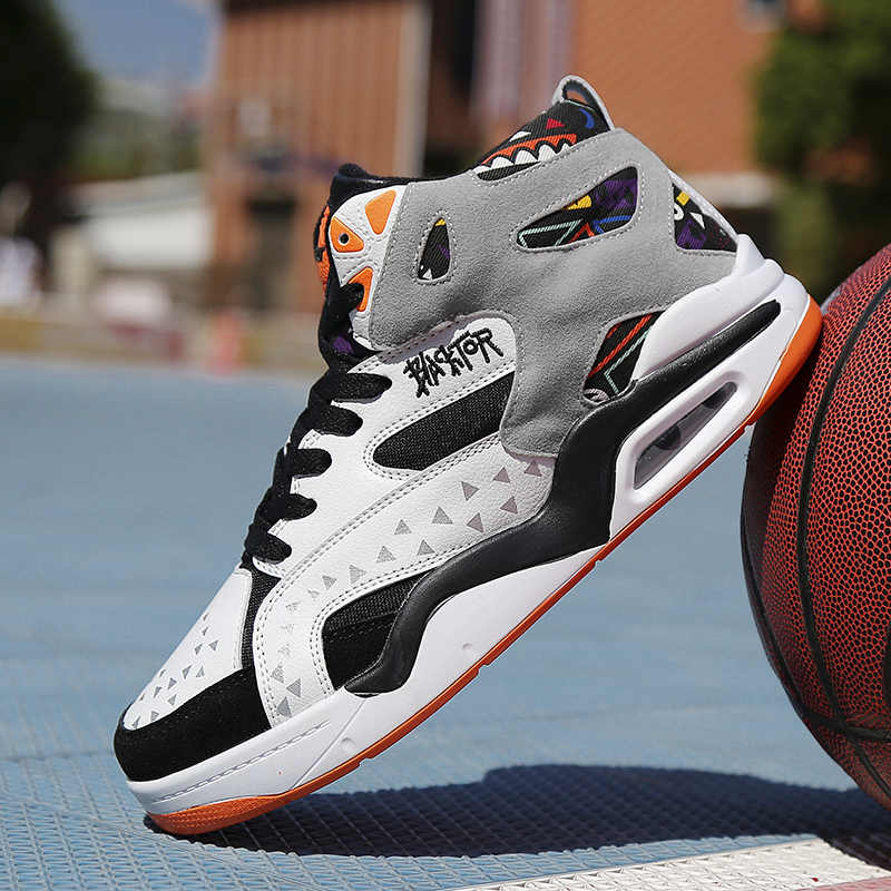 1e956e97b3cd Original Professional Men Basketball Shoes Air Cushion Zoom High J13 Boost Sneakers  Footwear Sport Retro JD