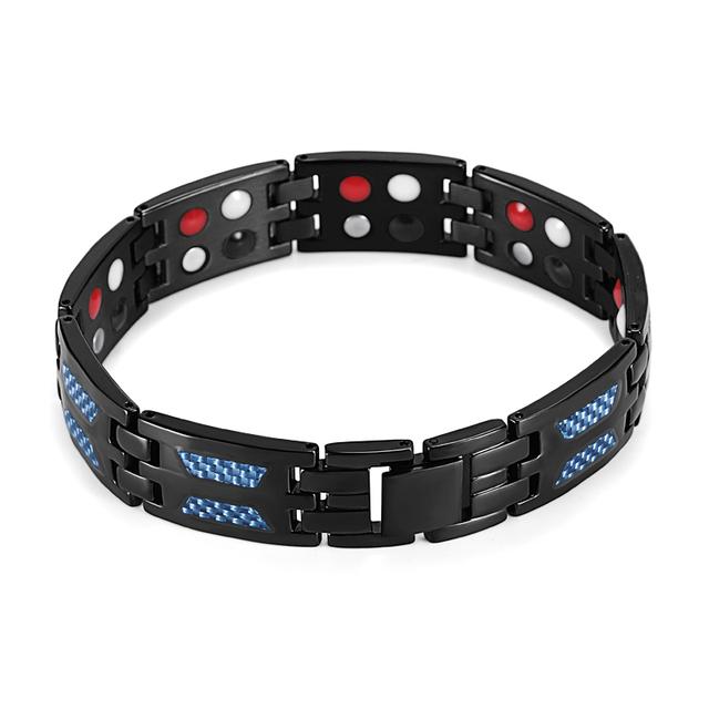 Titanium 4 Elements Health Magnetic Bracelet