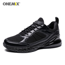 ONEMIX Men Running Shoes 2019 Waking Shoes Breathable Adult Male Shoes Trends Comfortable Ultra Light Outdoor Sports Shoes Black waking beauty