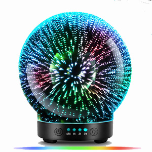 Image 2 - 7 LED Color Lighting Modes 3D Aromatherapy Essential Diffuser Fragrance Oil Humidifier Firework Theme Premium Ultrasonic Mist
