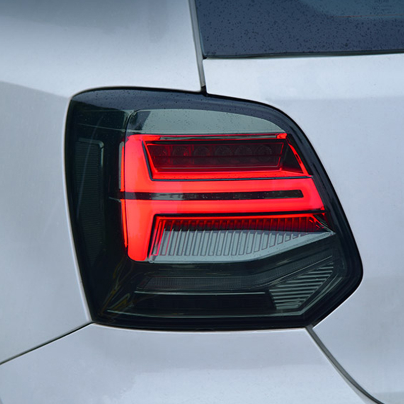 Car styling For Volkswagen POLO 2011 2017 Led Dynamic Flowing Turn Signal Taillight Tail lamp Stop