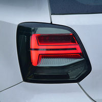 Car styling For Volkswagen POLO 2011 2017 Led Dynamic Flowing Turn Signal Taillight Tail lamp Stop light Fog lamp Rear Lamp