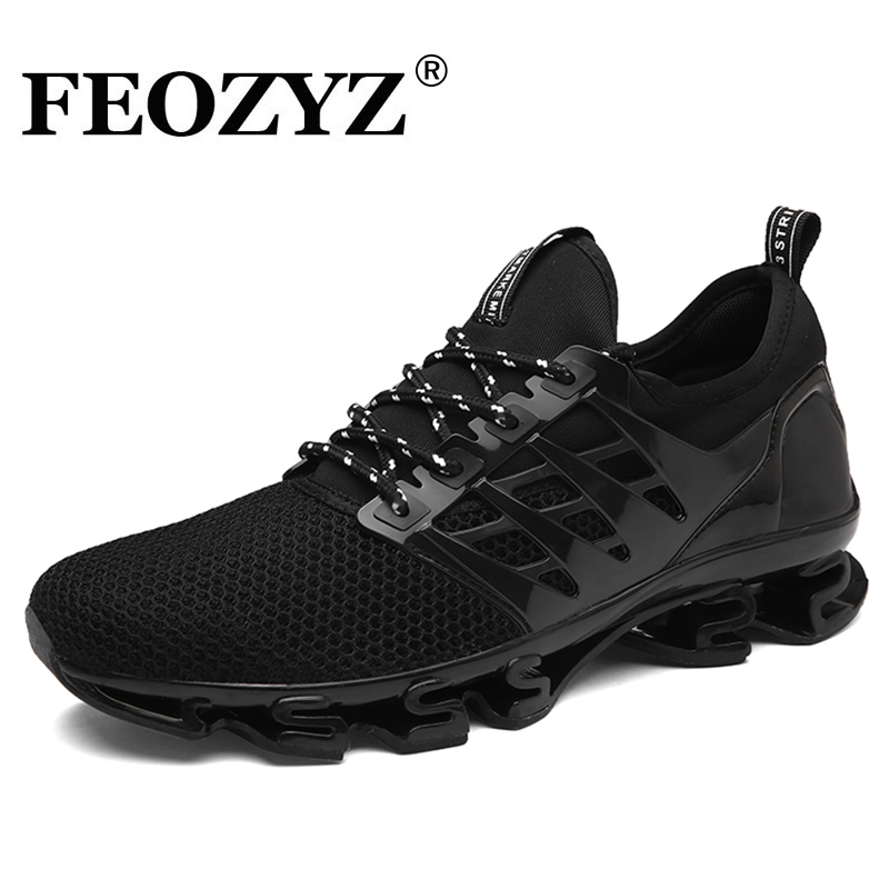 FEOZYZ New Dampping Running Shoes Men Spring Summer Breathable Sneakers Sports Shoes For Male Zapatillas Hombre Deportiva