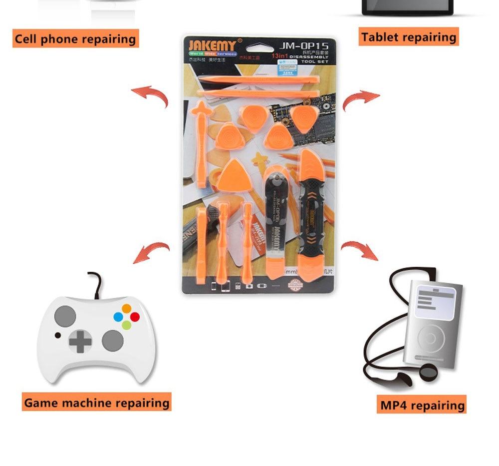 JM-OP15 itin plonų mobiliųjų telefonų remontas Atsuktuvų - Įrankių komplektai - Nuotrauka 6