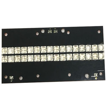 UV-LED curing module 320 watts high-power LED UV violet 6565 365-370nm 380-385nm 395-400nm 400-405nm 56*118mm board 216 watts high power led uv violet 3535 gold plated bracket 365nm 370nm 380nm 385nm 395nm 400nm 405nm 59 87mm board