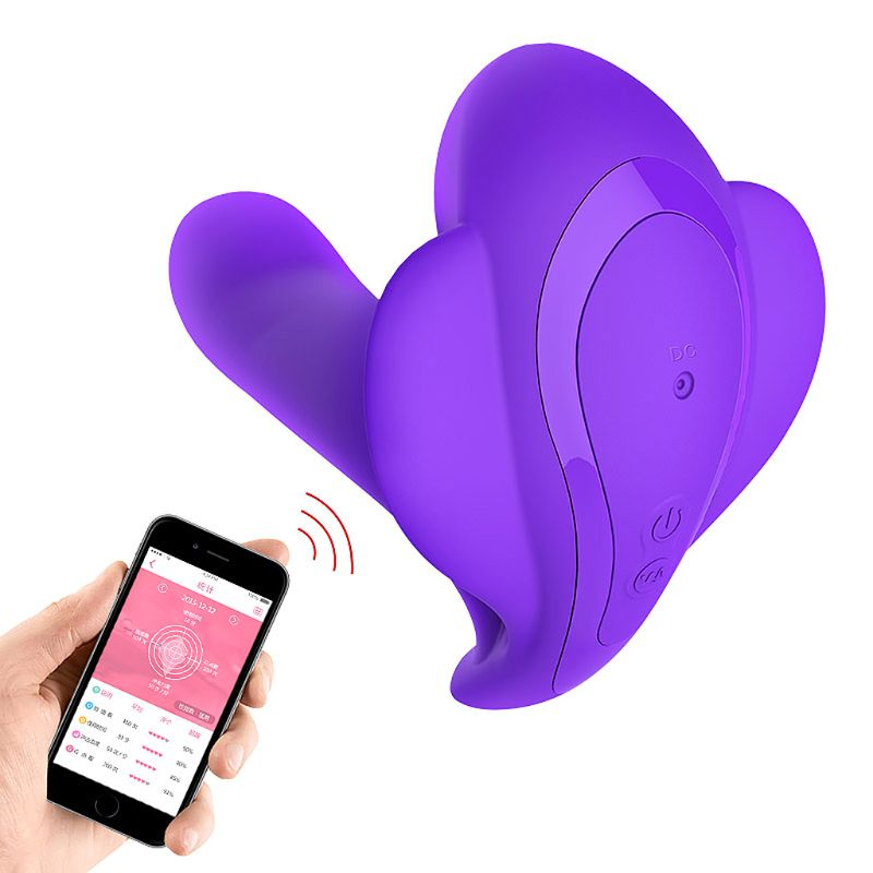 Bluetooth Wireless App Remote Control Butterfly Vibration Vibrating For Smart Phone for Women Sex ToysBluetooth Wireless App Remote Control Butterfly Vibration Vibrating For Smart Phone for Women Sex Toys