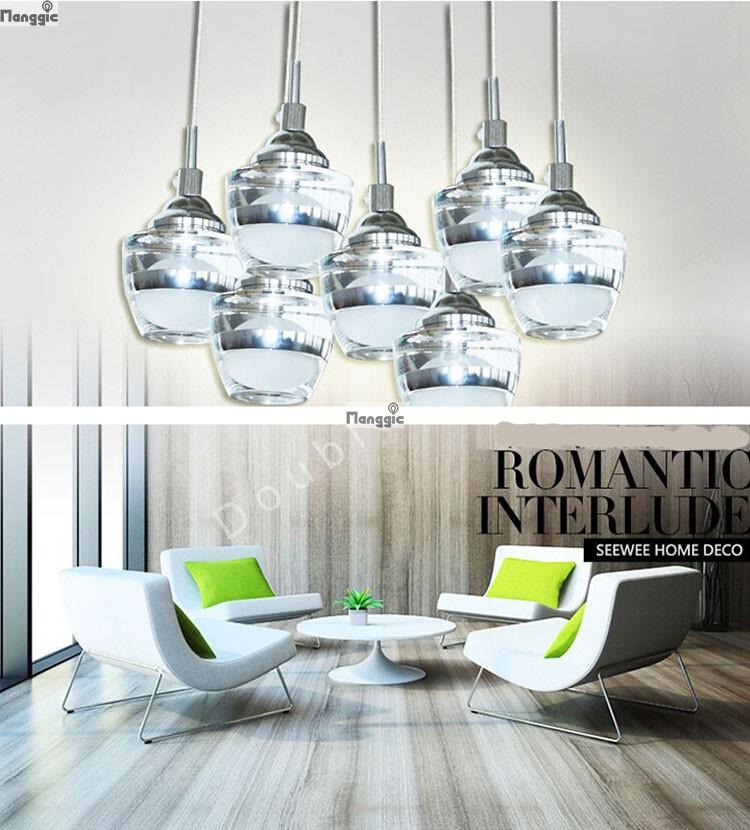 nuevo llegamos luces led lmparas de cristal lmparas de cristal modernas de cocina luces de