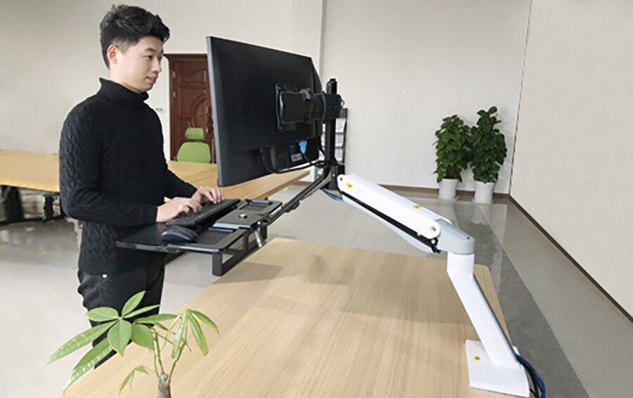 Nb FC40 2A computador ergonômico sentar estação