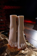 High quality Full silicone sex doll woman shoe mold silicone feet model size 38 Love Foot Fetish DHL shipping