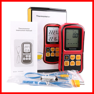 Image 5 - Professional thermometer Digital  Measure Too High Precision Temperature Meter Tester  with LCD Back light GM1312