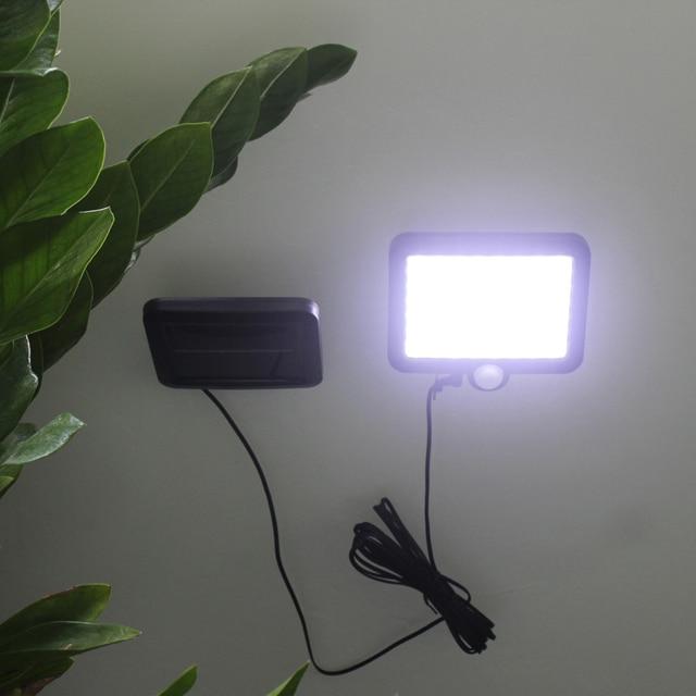 Solar Light 56 LED Outdoors Solar Garden Light Waterproof PIR Motion Sensor Wall Lamp Spotlights Emergency Street Solar Lamp 2