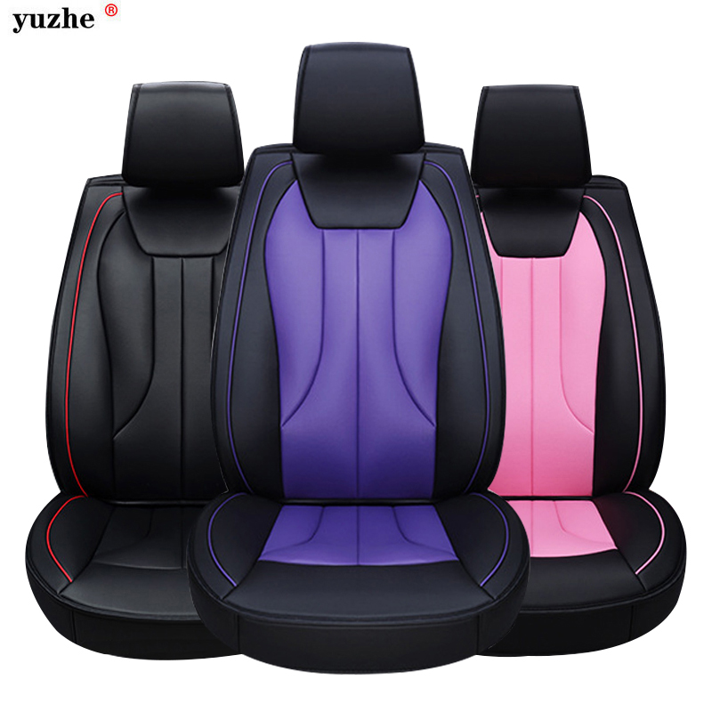 leather car seat cover For Toyota Volkswagen Suzuki Kia Mazda Mitsubishi Subaru Honda Audi Nissan Hyundai accessories styling