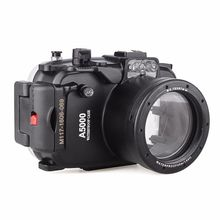 Meikon 40m 130ft Waterproof Underwater Diving Camera Case For Sony A5000 16-50mm