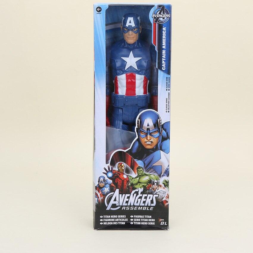 30cm Avengers Captain America Titan Super Hero Series Action Figure Toys Gift US