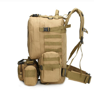 Image 3 - High Quality 50L  Large capacity Multifunction Military Backpack Camouflage Molle Army Backpacks Rucksack Men Travel Backpack