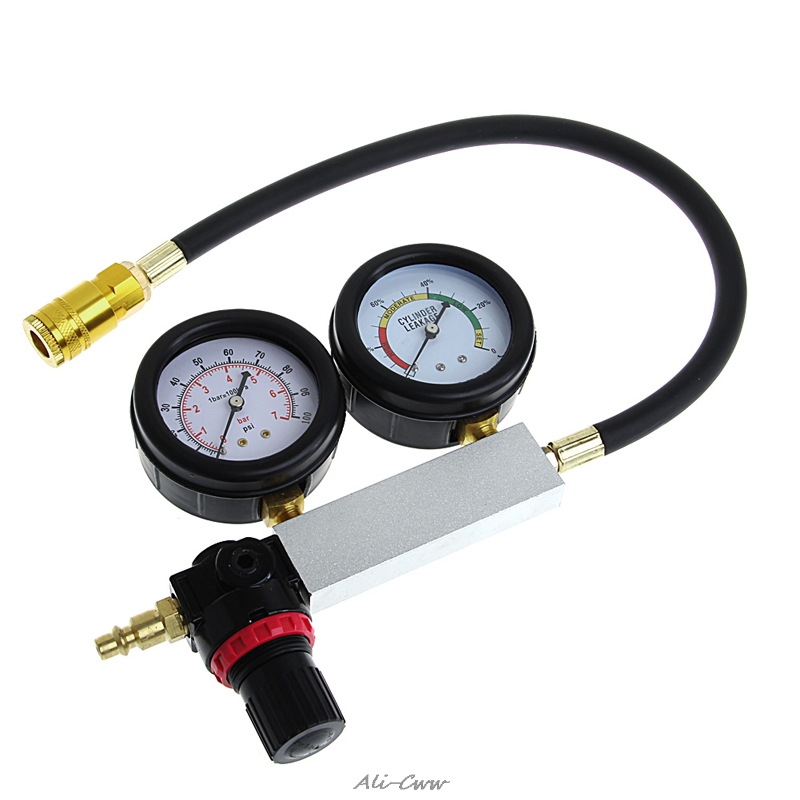 Auto Cylinder Engine Leak Leakdown Tester Compression Gauge Diagnostic Detector in Gas Analyzers from Tools
