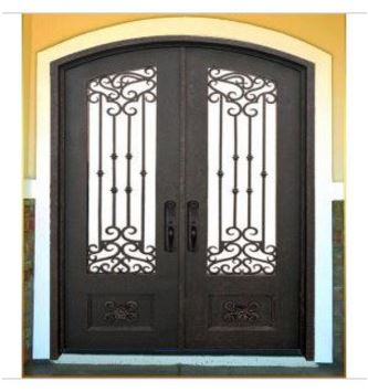 Hench 100% Steel Metal Iron  Wrought Iron Doors Las Vegas
