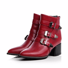 Spring/autumn ankle boots for women adult shoes fansion casual woman