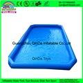Горячие продажи ПВХ используются большие надувные взрослых пластиковый бассейн, прокат надувной бассейн на продажу