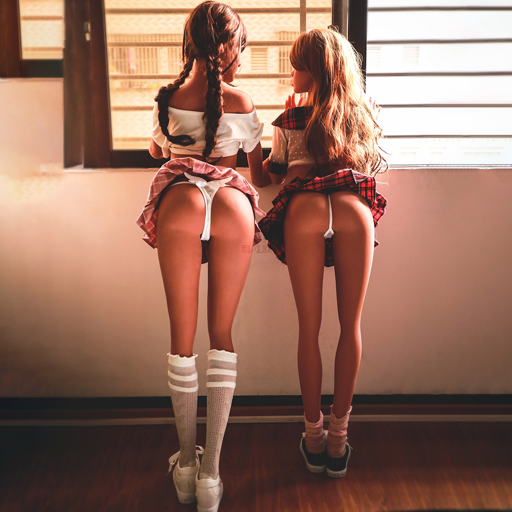 Cosdoll Newest Free Shipping Hot Selling Cheap Full Silicone Sex Twins Dolls For Sex in Sex Dolls from Beauty Health