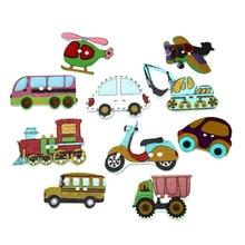 Wooden-Buttons Clothing Decorative-Crafts Diy-Accessories Scrapbooking Wood Botones Needlework