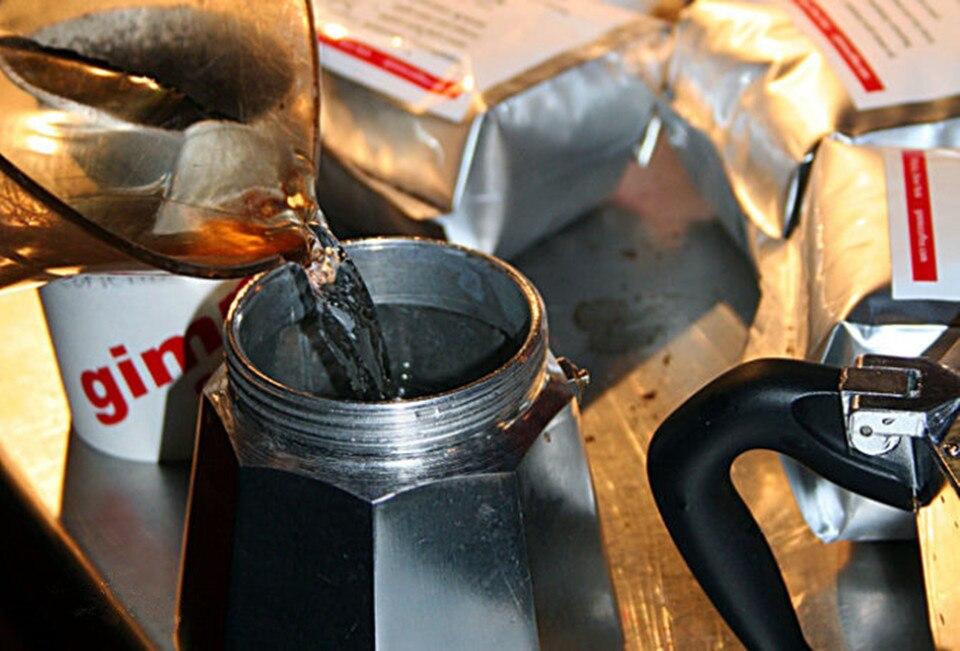 Hliníkový varič Espresso Maker Classic Moka Kávovar Espresso - Sady nástrojů - Fotografie 2